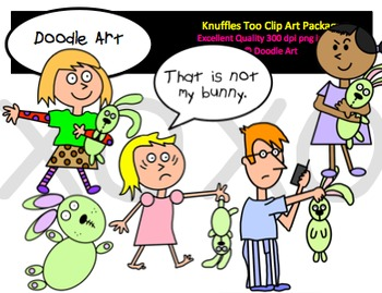 Knuffles Too Clipart Pack