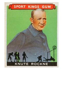 Knute Rockne Handout