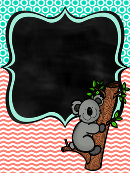 Koala BInder covers