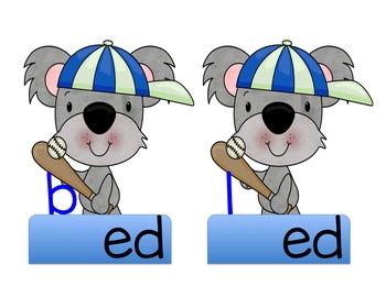 "Koala Bear ""short e"" CVC Words"
