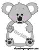 """Koala Clip Art / Koala Frame: """"Feed the Koala"""" Clipart Set"""