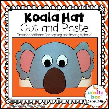 Koala Hat Cut and Paste