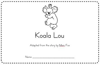Koala Lou Activities