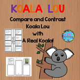 Koala Lou Activities - Paired Text