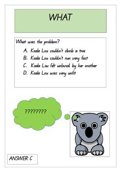 Koala Lou Comprehension Exercise