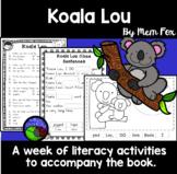Koala Lou by Mem Fox ~ A week of reading activities