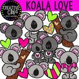 Koala Love {Creative Clips Clipart}