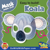 Koala Mask | Printable Craft Activity