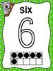 Koala Ten Frame Number Posters