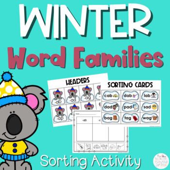 Word Families Activity