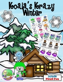 Koala's Krazy Winter - Sight Word Center (First)