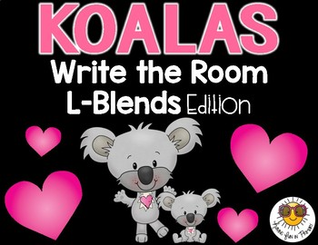 Koalas Write the Room - L-Blends Edition