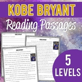 Kobe Bryant: Reading Passages and Questions (5 differentia