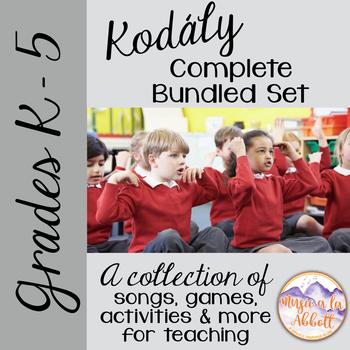 Kodály BUNDLED Set Grade K-5