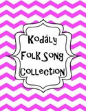 Kodaly Binder Cover and Concept Organizers/ Classroom posters