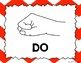 Kodaly / Curwen / Solfege Hand Sign Posters (Chevrons Big,