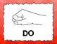 Kodaly / Curwen / SolfegeHand Sign Posters (Ombre, Boomwha