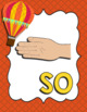 Kodaly Hand Signs - Balloon Theme