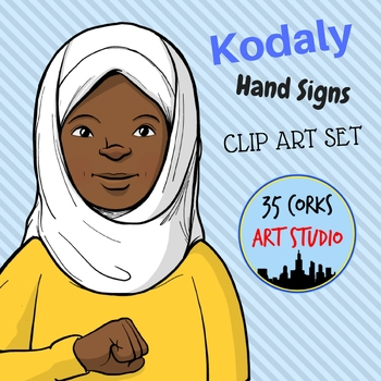 Kodaly Hand Signs Clip Art - Free