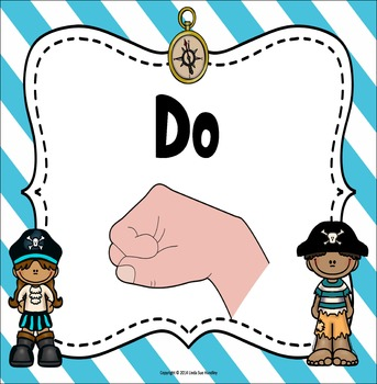 Kodaly Hand Signs ~Pirate's Theme~