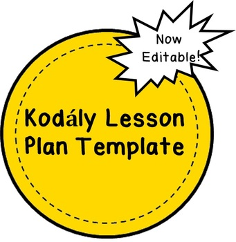 Kodály Lesson Plan Template