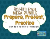 Kodaly Prepare, Present, Practice - First-Fifth Grade MEGA BUNDLE