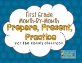 Kodaly Prepare, Present, Practice - First Grade