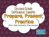 Kodaly Prepare, Present, Practice - Second Grade SAMPLE