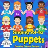 Singing Puppet Craft | Kids Showing Kodaly / Curwen Hand Signs