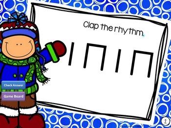 Kodaly rhythm - ta, ti-ti, rest