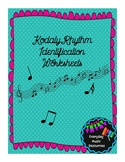 Kodaly Rhythm Identification & Labeling Worksheets