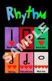 Kodaly Rhythm Poster