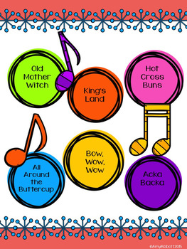 A Collection of Songs, PDFs, Activities and more for Teaching Quarter Rest