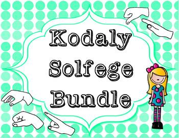 Kodaly Solfege Bundle