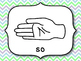 Kodaly Solfege Posters (Curwen Hand Signs)