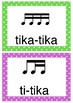 Kodaly rhythm posters - simple time