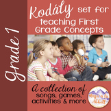 Kodály set for Teaching First Grade Concepts {HUGE BUNDLE with mini lessons}
