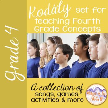 Kodály set for Teaching Fourth Grade Concepts {A HUGE BUNDLED SET}