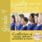 Kodály set for Teaching Fourth Grade Concepts {A HUGE  SET}