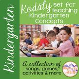 Kodály set for Teaching Kindergarten Concepts {A Comprehensive Set}