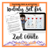 Kodály set for Teaching Second Grade Concepts {HUGE Set}