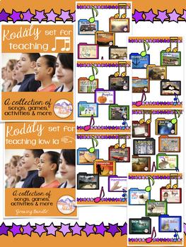 Kodály set for Teaching Third Grade Concepts {HUGE BUNDLED SET}