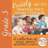 Kodály set for Teaching Third Grade Concepts {HUGE BUNDLED SET}