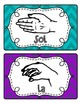 Kodaly/Solfege Hands Signs~ Colors coordinate with Color-Coded Instruments!