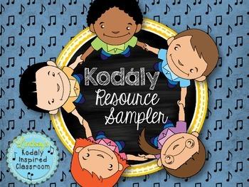 Kodály Resource Sampler {Freebie}