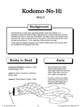Kodomo-No-Hi (Children's Day): Making Books