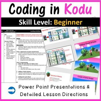 Kodu Programming Coding - The Complete Bundle (Creating 3D Games)