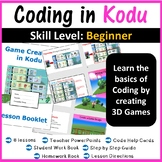 Kodu Programming Coding - The Complete Lesson Plans (Creating 3D Games)