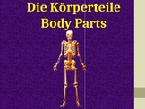 Körperteile - Body parts in German