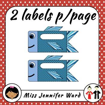 Koi Labels FREE
